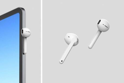 Apple wypuści wodoodporne słuchawki AirPods w 2020 roku polecane, ciekawostki wodoszczelność, Apple, AirPods  AirPodsy są najpopularniejszymi słuchawki bezprzewodowymi na świecie: wiele osób jest gotowych przymknąć oko na znaczny koszt akcesorium, ponieważ zalety AirPods przewyższają wadę wysokiej ceny. airpods1 525x350