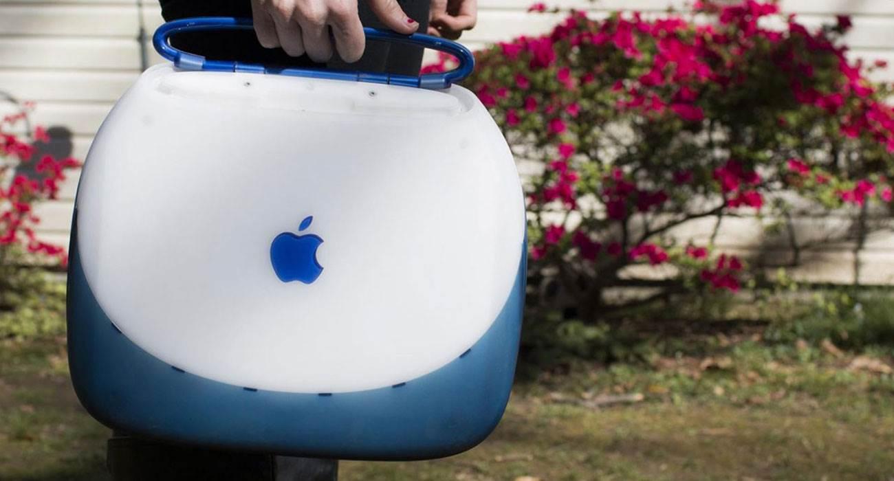 Dokładnie 20 lat temu, Steve Jobs zaprezentował światu iBooka, czyli laptopa z Wi-Fi polecane, ciekawostki Wideo, ibook, Apple  Po powrocie do Apple pod koniec lat 90. Steve Jobs pokazał iBooka, który służył jako prototyp nowoczesnego MacBooka Air. Jego prezentacja odbyła się 20 lat temu na Macworld Expo 1999 w Nowym Jorku. iBook 1