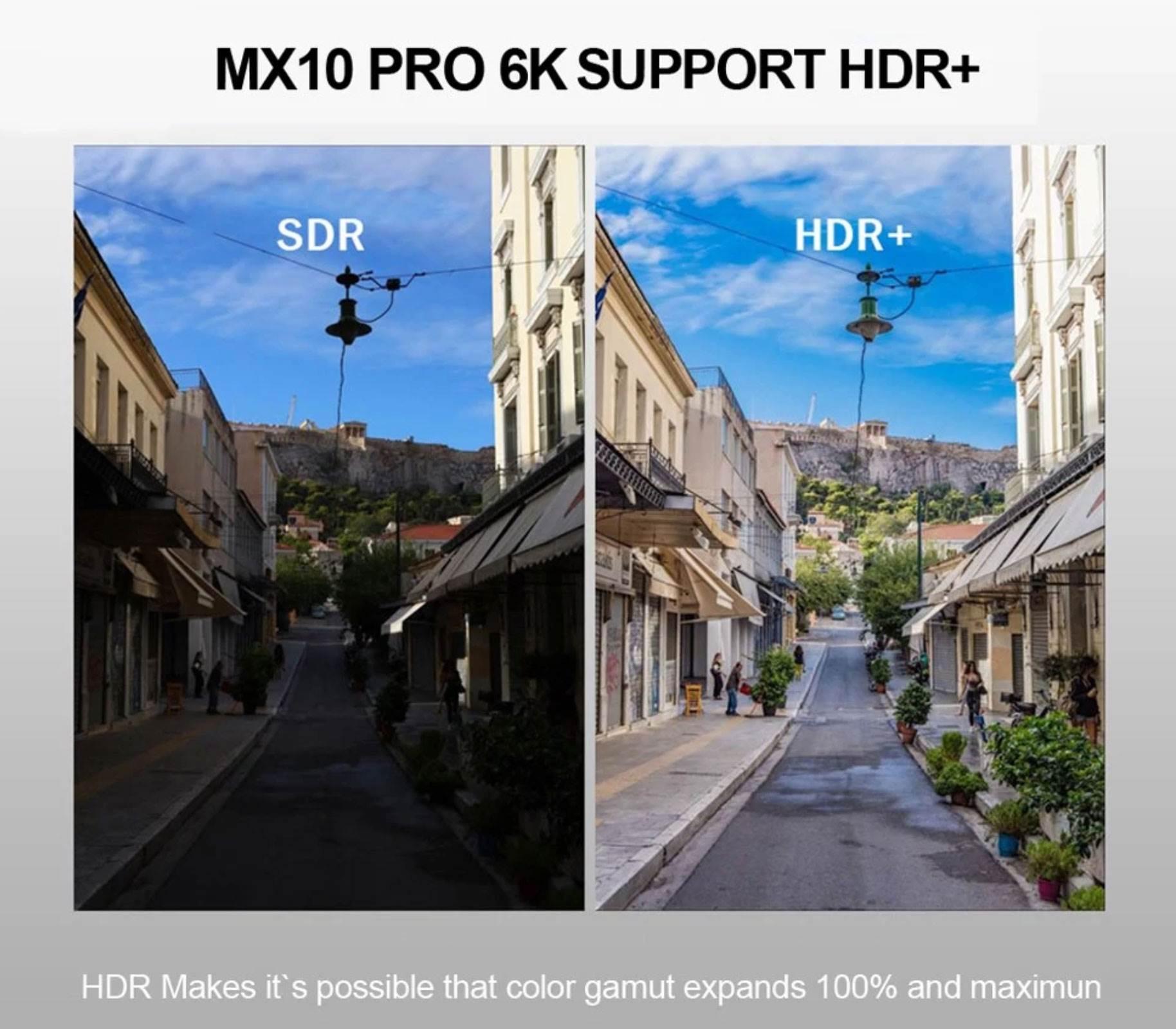 Przystawka telewizyjna MX10 Pro z obsługą 6K HDR dostępna w promocji ciekawostki Promocja, MX10 Pro  Szukacie taniej i dobrej przystawki do Waszego telewizora? Dziś mamy dla Was MX10 Pro, czyli przystawkę z obsługą 6K HDR, która zmieni Wasz tradycyjny telewizor w SmartTV. smart 1