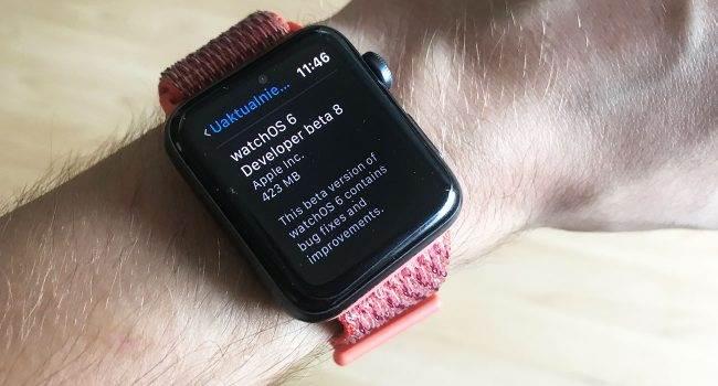 watchOS 6 umożliwia wywołanie aktualizacji z zegarka polecane, ciekawostki watchOS 6, beta, Aktualizacja  watchOS 6 jest obecnie w fazie beta testów i widać, że Apple dodaje sporo nowych funkcji. Jedną z nich jest możliwość wywołania aktualizacji prosto z zegarka. AppleWatch 1 650x350