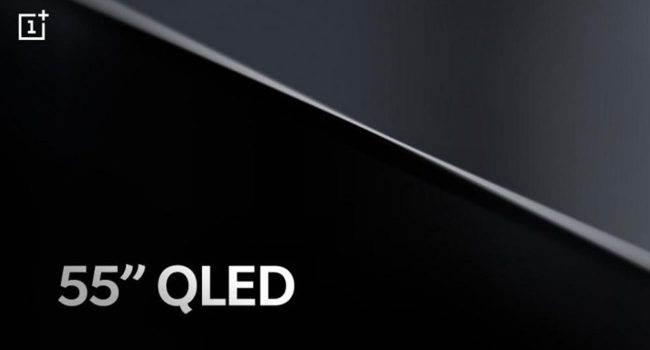 OnePlus TV: pojawiła się oficjalna specyfikacja techniczna ciekawostki Specyfikacja, OnePlus TV, mediatek  OnePlus TV zadebiutuje już w przyszłym miesiącu, a producent na samym początku podkreślił, że będziemy mieli do czynienia z 55 - calowym telewizorem wyposażonym w ekran QLED. TV 1 650x350