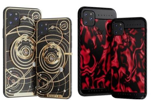 W Rosji można już zamawiać iPhone 11 polecane, ciekawostki Sprzedaż, iPhone 11, Caviar  Caviar, znany z niewiarygodnie drogich wersji popularnych smartfonów, na niecały miesiąc przed prezentacją otworzył przedsprzedaż swoich smartfonów Apple na 2019 r. iPhone11 3 510x350