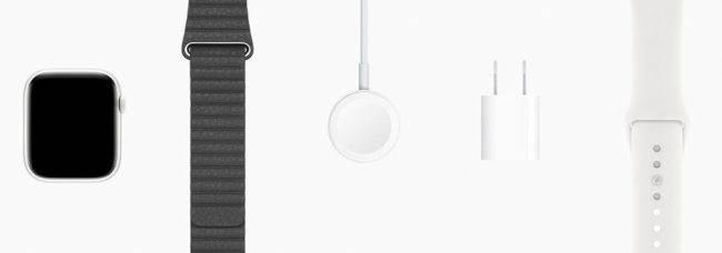 Apple Watch Series 5 z dodatkowym paskiem w opakowaniu polecane, ciekawostki Pasek, Apple Watch Series 5, Apple  Apple Watch Series 5 wydaje się interesującym urządzeniem naręcznym, ponieważ jak się okazuje, niektóre modele będą miały w zestawie dodatkowy pasek. Apple Watch 650x228