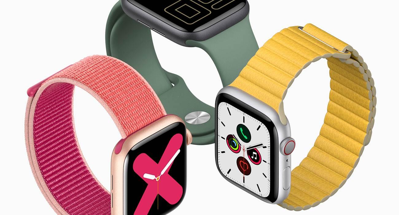 Apple Watch Series 5 jest podobny do poprzednika polecane, ciekawostki Apple Watch Series 5, Apple  Apple Watch Series 5 trafił już do sprzedaży, więc specjaliści z iFixit mogli sprawdzić co kryje sięw jego wnętrzu. Okazuje się, że jest wiele elementów z poprzedniego modelu. AppleWatchSeries5 1