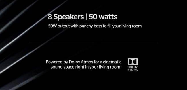 OnePlus TV ze wsparciem dla Dolby Vision i Atmos ciekawostki smart TV, OnePlus TV, Dolby Vision, Dolby Atmos, Android RV  OnePlus TV zadebiutuje jeszcze w tym miesiąc i pojawił się nawet na Amazonie. Dzięki temu mamy dodatkowe informacje związane z jego specyfikacją. OnePlus TV 650x314