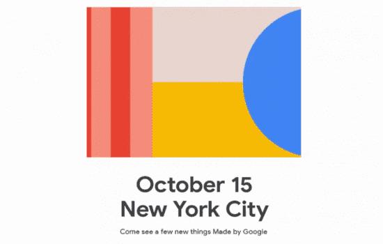 Google ogłasza datę prezentacji Pixel 4 i innych gadżetów ciekawostki prezentacja Pixel 4, kiedy Pixel 4, google pixel 4, Google, data prezentacji  Po licznych wyciekach na temat Google Pixel 4 i Google Pixel 4 XL firma Google wreszcie oficjalnie potwierdziła datę ogłoszenia nowych urządzeń. Pixel4 1 550x350