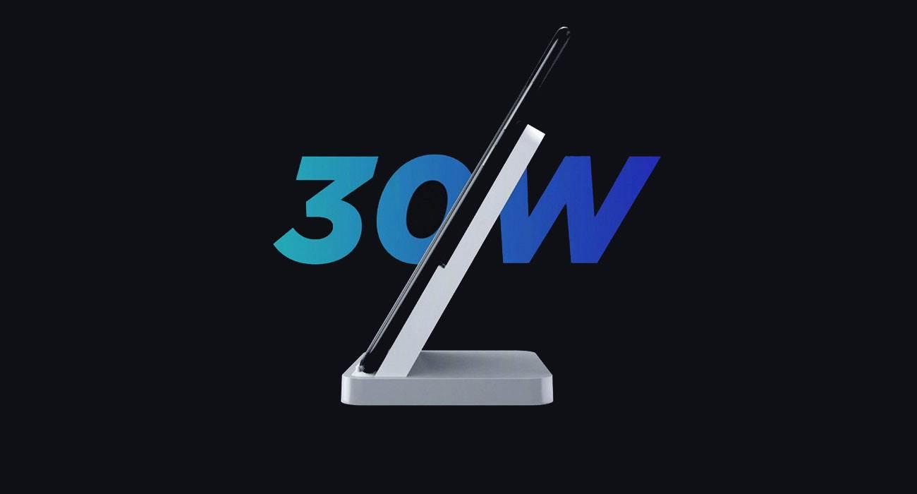 Najszybsze ładowanie bezprzewodowe. Xiaomi przedstawiło ładowarkę Mi Charge Turbo o mocy 30W polecane, ciekawostki Xiaomi, Mi Charge Turbo, ładowarka bezprzewodowa 30W  Xiaomi przedstawiło na konferencji pierwszą ładowarkę, która wykorzystuje nową technologię bezprzewodowego ładowania Mi Charge Turbo o mocy 30 watów.  Xiaomi 30W