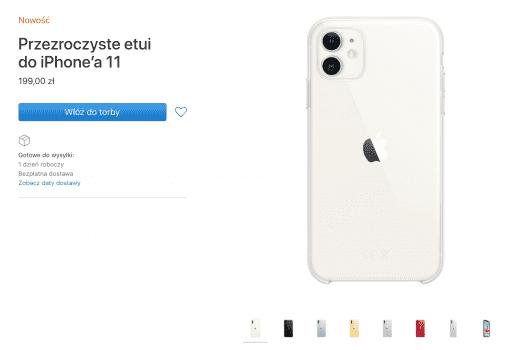 Apple wprowadza do oferty przezroczyste etui dla wszystkich nowych iPhone?ów polecane, ciekawostki przezroczyste etui dla iPhone 11 Pro Max, przezroczyste etui dla iPhone 11 Pro, przezroczyste etui dla iPhone 11, przezroczyste etui Apple, Apple  Tuż po wczorajszej prezentacji iPhone'a 11 , 11 Pro i 11 Pro Max firma Apple wprowadziła do sprzedaży nowe przezroczyste etui dla wszystkich nowych iPhone?ów. etui1 512x350