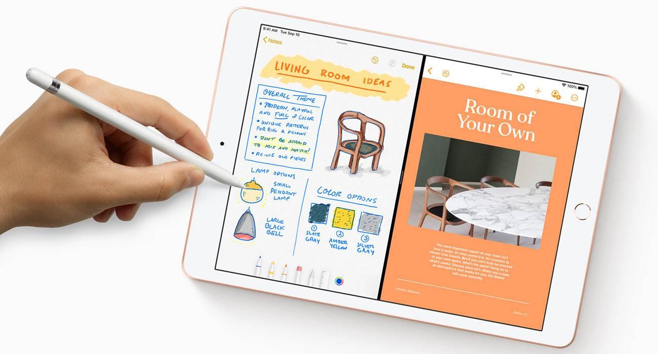 Większy i szybszy. Apple wprowadziło do swojej oferty nowego 10,2-calowego iPada siódmej generacji polecane, ciekawostki Specyfikacja, iPad 2019, iPad 10.2 cala, Apple, 10.2 cala iPad 2019  Firma Apple przedstawiła dziś w ?Steve Jobs Theater? nowy tablet iPad siódmej generacji z 10,2-calowym ekranem, zamiast wcześniejszego znanego 9,7-cala.  iPad102 1