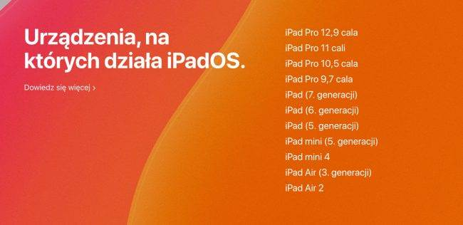 Na tych iPadach zainstalujesz iPadOS 13 polecane, ciekawostki na jakich ipadach można zainstalować iPadOS, lista kompatybilnych iPadów z iPadOS, iPadOS na których iPadach, iPadOS 13, iPadOS, iPad  Dziś niestety tylko iOS 13. iPadOS 13 oficjalnie będzie dostępny dopiero 30 września, ale już teraz możecie sprawdzić na których tabletach możliwa będzie instalacja najnowszego systemu. iPadOS 650x316