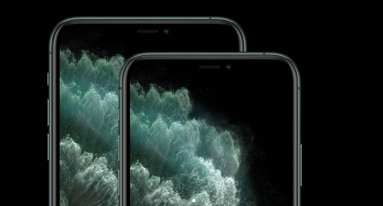 Zielony ekran po odblokowaniu iPhone. Problem sprzętowy czy błąd oprogramowania? polecane, ciekawostki zielony odcień ekranu, zielony ekran, iPhone 11 Pro, iPhone 11  Niektórzy właściciele iPhone 11, iPhone 11 Pro a także iPhone 11 Pro Max mają nowy problem. Ich ekran zaraz po odblokowaniu jest zielony. iPhone11Pro 2