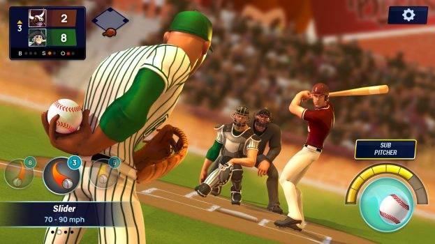 Gameloft wprowadza swoją pierwszą grę do Apple Arcade polecane, ciekawostki gameloft, Ballistic Baseball, apple arcade  Apple Arcade robi się coraz ciekawsze. Gameloft ogłosił, że ich najnowsza gra Ballistic Baseball jest już dostępna w Apple Arcade. Ballistic Baseball apple arcade 623x350