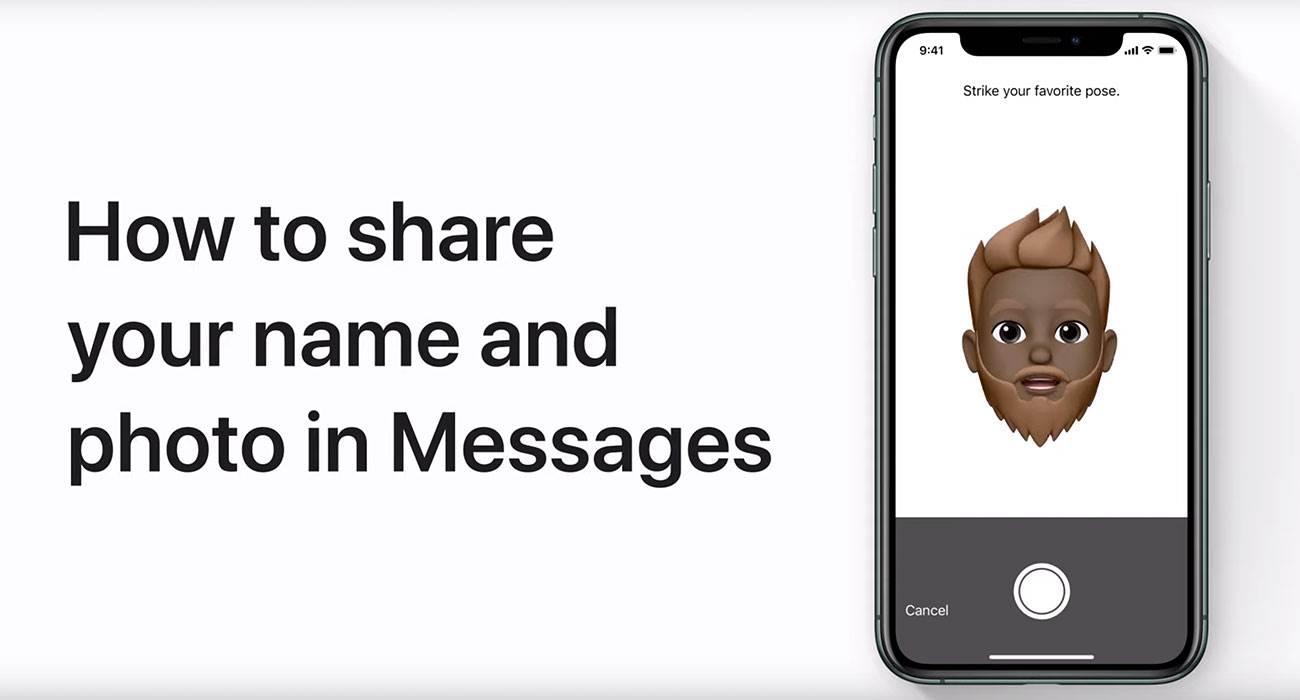 Jak udostępnić swoje imię i zdjęcie w wiadomościach na iPhonie polecane, ciekawostki Wideo, iOS 13, Apple  Wsparcie Apple udostępniło nowy film, w którym szczegółowo opisano, jak udostępnić swoje imię i zdjęcie w aplikacji Wiadomości na telefonie iPhone, iPadzie i iPodzie touch.  iMessage