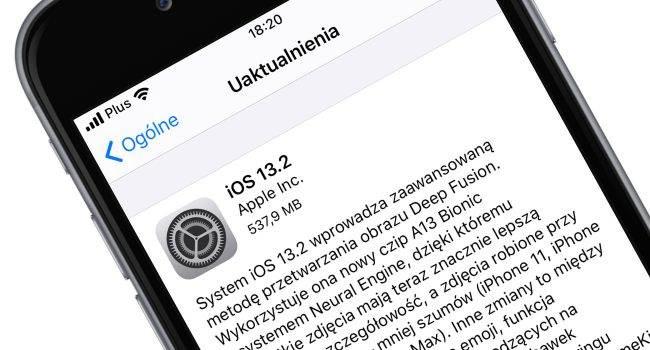 Apple udostępnia iOS 13.2 oraz iPadOS 13.2 - lista zmian polecane, ciekawostki oficjalna lista zmian, lista zmian w iOS 13.2, lista zmian, iPadOS 13.2, iOS 13.2, co nowego, Aktualizacja  No i kolejna niespodzianka. Dosłownie przed chwilą Apple udostępniło nowe systemy. Są to iOS 13.2 oraz iPadOS 13.2. Lista zmian tradycyjnie poniżej. iOS13.2 650x350