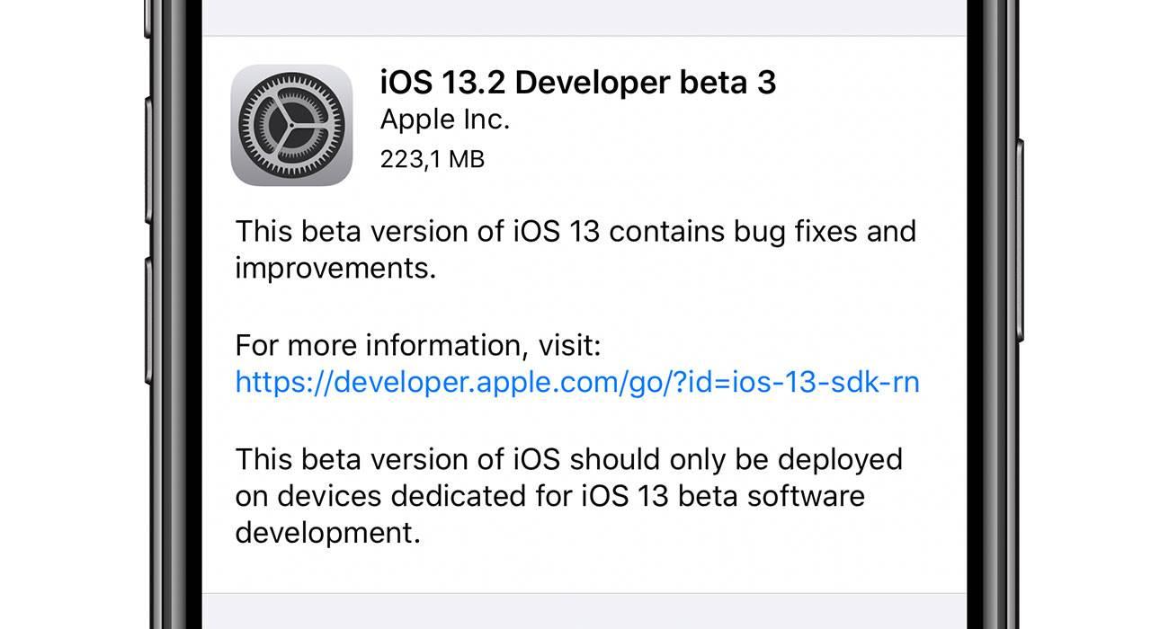 Trzecia beta iOS 13.2 oraz iPadOS 13.2 dostępna do pobrania dla deweloperów polecane, ciekawostki zmiany, Update, lista zmian, iPadOS 13.2 beta 3, iOS 13.2 beta 3, co nowego, Apple, Aktualizacja  Od czasu udostępnienia drugiej bety iOS 13.2 / iPadOS 13.2 minął niecały tydzień, więc zgodnie z tradycją Apple udostępniło właśnie deweloperom trzecią betę najnowszej testowej wersji iOS oraz iPadOS. iOS132beta3