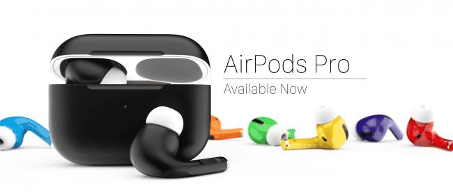 AirPods Pro dostępne w wielu kolorach dzięki ColorWare polecane, ciekawostki kolory, ColorWare, AirPods Pro  AirPods Pro miały się pojawić w wielu kolorach, a tymczasem dostępny jest jedynie biały. Na szczęście w Stanach Zjednoczonych jest ColorWare, które sprzedaje nowe bezprzewodowe słuchawki Apple w wielu kolorach. AirPods Pro ColorWare banner 650x279