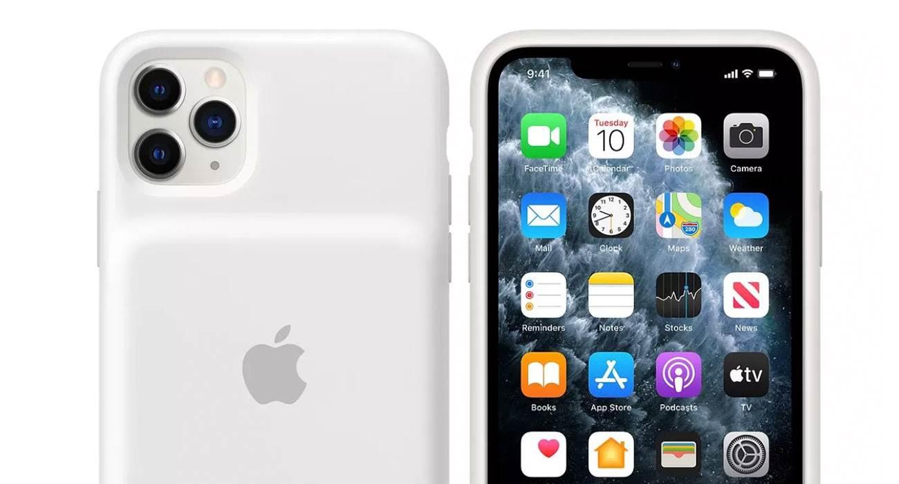 Smart Battery Case dla nowych modeli iPhone'a już dostępne polecane, ciekawostki Smart Battery Case, iPhone 11, Apple  Smart Battery Case dla nowych modeli iPhone'a było bohaterem wiele przecieków. Do tej pory nie wiedzieliśmy tylko kiedy będziemy mogli je kupić. BatteryCase