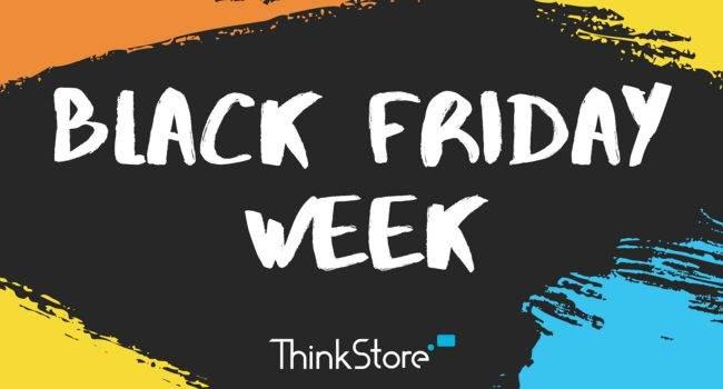 Black Friday Week ? tydzień niesamowitych okazji w ThinkStore, czyli kilkaset produktów nawet o 60% taniej polecane, ciekawostki ThinkStore, Promocja, czarny piątek, black week  No i stało się! W ThinkStore.pl ruszył właśnie tydzień niesamowitych okazji i promocji. Od dziś do końca tygodnia znajdziecie wiele świetnych produktów w bardzo atrakcyjnych cenach. Oto więcej szczegółów. BlackWeek 650x350