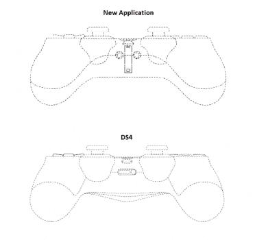 DualShock 5: wygląd kontrolera z patentu Sony polecane, ciekawostki Sony, playstation 5, Patent, pad, kontroler, Dualshock 5  DualShock 5 będzie kontrolerem dla PlayStation 5, a w sieci pojawiły się właśnie schematy kontrolera. Wszystko za sprawą patentu Sony, który został wystosowany w Japonii. DS5 3 391x350