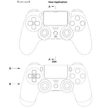 DualShock 5: wygląd kontrolera z patentu Sony polecane, ciekawostki Sony, playstation 5, Patent, pad, kontroler, Dualshock 5  DualShock 5 będzie kontrolerem dla PlayStation 5, a w sieci pojawiły się właśnie schematy kontrolera. Wszystko za sprawą patentu Sony, który został wystosowany w Japonii. DS5 6 344x350