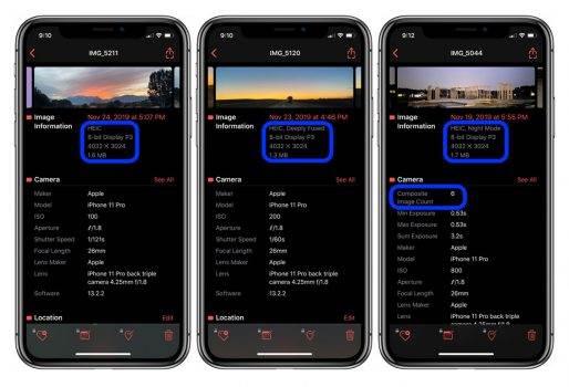 Jak sprawdzić czy iPhone 11 / 11 Pro podczas robienia zdjęcia korzystał z Deep Fusion polecane, ciekawostki Metapho, jak sprawdzić, iPhone, Deep Fusion, Apple  Za pomocą tej darmowej apki sprawdzicie, czy iPhone 11 / 11 Pro podczas robienia zdjęcia korzystał z nowego trybu Deep Fusion czy nie. DeepFusion 1 514x350