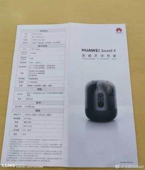 Huawei przygotowuje inteligentny głośnik Sound X o niespotykanej jakości dźwięku polecane, ciekawostki Sound X, Huawei, cena  W sieci pojawiły się szczegółowe informacje na temat inteligentnego głośnika Sound X, który jest przygotowywany przez Huawei. H2 300x350
