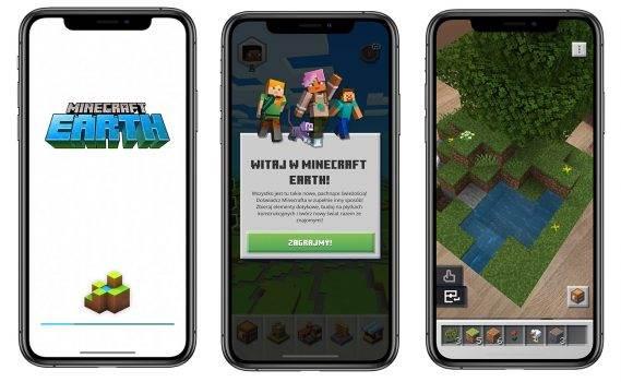 Minecraft  Earth, czyli Minecraft w rozszerzonej rzeczywistości już dostępny w App Store polecane, ciekawostki Wideo, skąd pobrać Minecraft Earth, minecraft, Earth, download, App Store  Minecraft Earth, to gra, która pierwszy raz została zaprezentowana na konferencji otwierającej tegoroczne WWDC. Po wielu miesiącach testów gra jest już dostępna w App Store. Minecraft 569x350