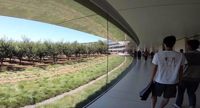 Yonsung Kim i jego niezwykła wycieczka po Apple Park polecane, ciekawostki Wideo, apple park od środka  Użytkownik Yonsung Kim zamieścił kilka dni temu na swoim kanale YouTube nieco ponad 3 minutowe wideo, na którym możemy zobaczyć kilka niezwykłych miejsc w Apple Park. Park 1 650x350