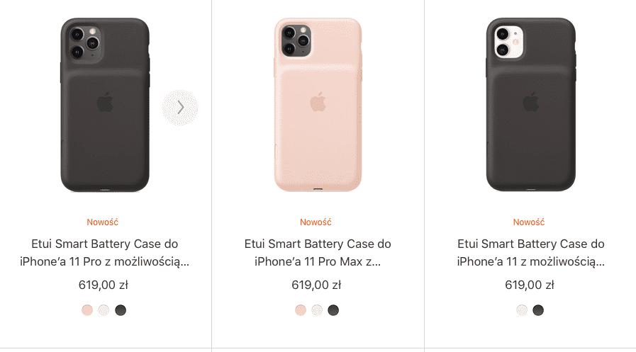 Smart Battery Case dla nowych modeli iPhone'a już dostępne polecane, ciekawostki Smart Battery Case, iPhone 11, Apple  Smart Battery Case dla nowych modeli iPhone'a było bohaterem wiele przecieków. Do tej pory nie wiedzieliśmy tylko kiedy będziemy mogli je kupić. Smart Battery Case