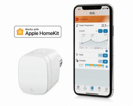Eve Thermo 3-gen - inteligentna głowica termostatyczna z HomeKit, która zwiększy komfort i wygodę obsługi systemu grzewczego w Twoim domu polecane, ciekawostki homekit, gdzie kupić, Eve Thermo 3-gen, Eve Thermo 3 generacji, Eve Thermo, cena  Szukacie inteligentnej głowicy termostatycznej z obsługą HomeKit? Nie możecie się zdecydować, który model wybrać? Dziś przedstawiamy Wam nowość Eve Thermo 3 generacji. eve3 439x350