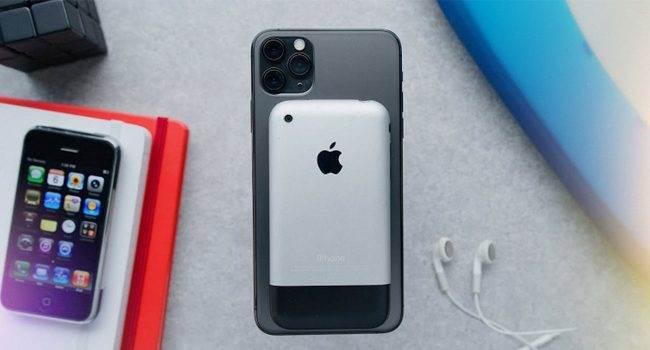 Pierwszy iPhone porównany z najnowszym iPhone'em 11 Pro polecane, ciekawostki Wideo, iPhone 2G, iPhone 11 Pro  Popularny bloger Marques K. Brownlee opublikował na swoim kanale YouTube wideo na którym porównuje najnowszego iPhone 11 Pro z pierwszym iPhone'em, który został zaprezentowany przez Steve?a Jobsa w 2007 roku. iPhone2G 650x350