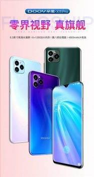 Chiński producent smartfonów Doov skopiował zarówno iPhone 11 Pro, jak i Xiaomi CC9 Pro ciekawostki klon iPhone 11 Pro, Duo X11 Pro, Doov  Chińscy producenci smartfonów często oferują super tanie i dziwne flagowe projekty. Przykładem jest Duovem Duo X11 Pro - w którym to producent bezczelnie skopiował nie tylko nazwę, a także aparat iPhone'a 11 Pro. W plagiacie brał także udział - Xiaomi CC9 Pro. 1 187x350