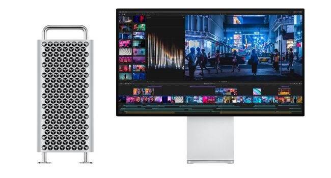 Apple Mac Pro ma mysz, klawiaturę, gładzik i kabel Lightning w nowym kolorze ciekawostki nowy kolor, Mac Pro, Apple  Wraz z rozpoczęciem sprzedaży Mac Pro i Pro Display XDR Apple oficjalnie potwierdziło, że Magic Keyboard, Magic Mouse i Magic Trackpad w nowym kolorze będą dostarczane tylko z nowym komputerem. MacPro 650x350
