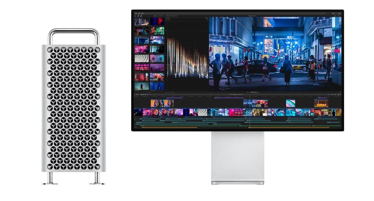 Apple Mac Pro ma mysz, klawiaturę, gładzik i kabel Lightning w nowym kolorze ciekawostki nowy kolor, Mac Pro, Apple  Wraz z rozpoczęciem sprzedaży Mac Pro i Pro Display XDR Apple oficjalnie potwierdziło, że Magic Keyboard, Magic Mouse i Magic Trackpad w nowym kolorze będą dostarczane tylko z nowym komputerem. MacPro