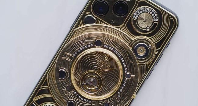 Zobacz jak wygląda z bliska najdroższy iPhone 11 Pro na świecie polecane, ciekawostki Wideo, najdroższy iPhone 11 Pro na świecie, iPhone 11 Pro  Przedwczoraj do sieci trafiło wideo na którym możemy zobaczyć z bliska najdroższego iPhone?a 11 Pro od Caviar. Urządzenie kosztuje ponad 100 tysięcy dolarów. iPhone11Pro caviar 650x350