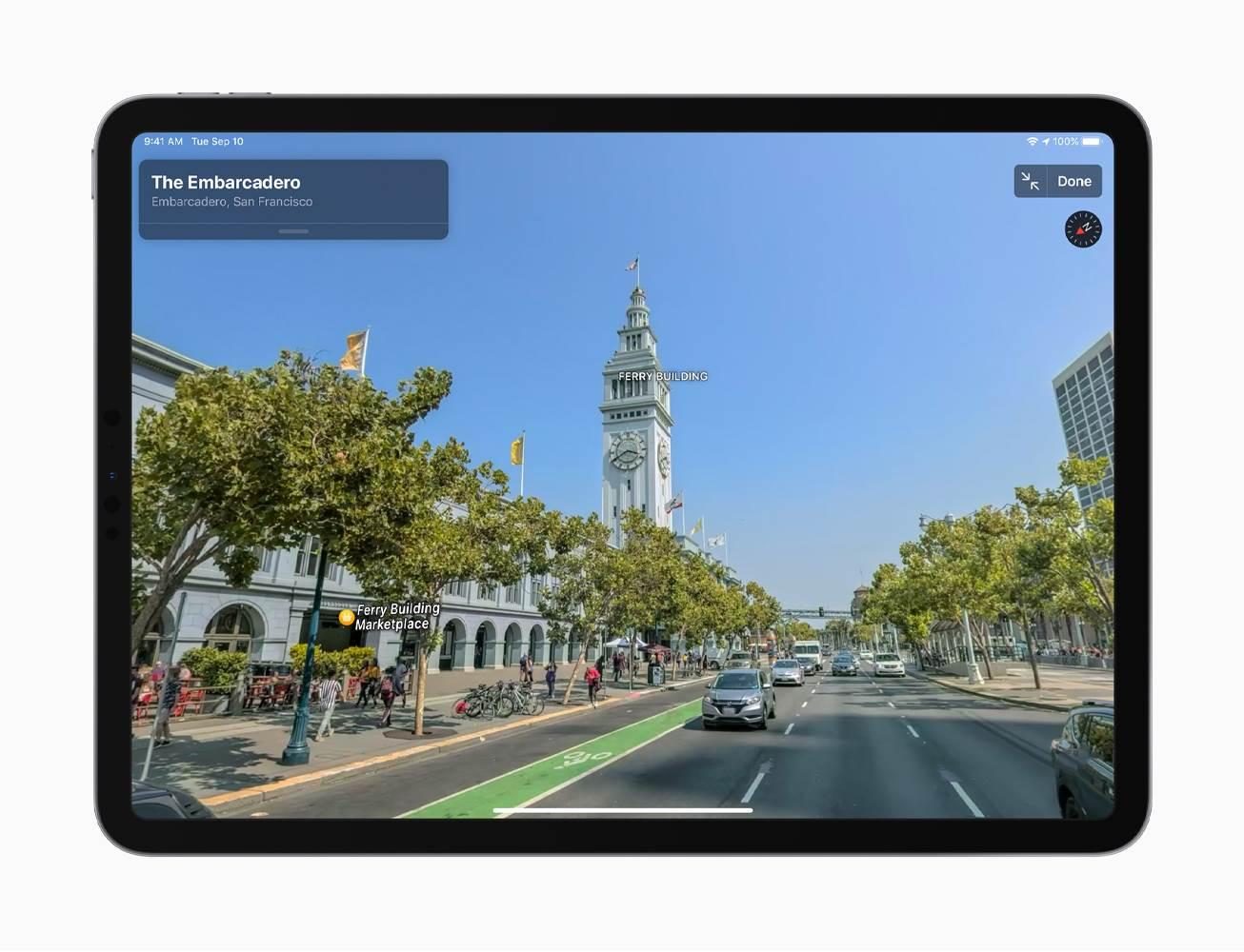 Apple oficjalnie zakończyło proces wdrażania nowych map w Apple Maps. Zmiany pojawiły jednak tylko w Stanach Zjednoczonych, Europa jest następna polecane, ciekawostki apple maps, Apple  Po bardzo trudnym starcie i długim okresie udoskonalania, Apple w końcu zakończyło długi proces wdrażania nowych map w swojej aplikacji na iOS i macOS. Apple Maps Update Look Around 01302020 inline.jpg.large 2x