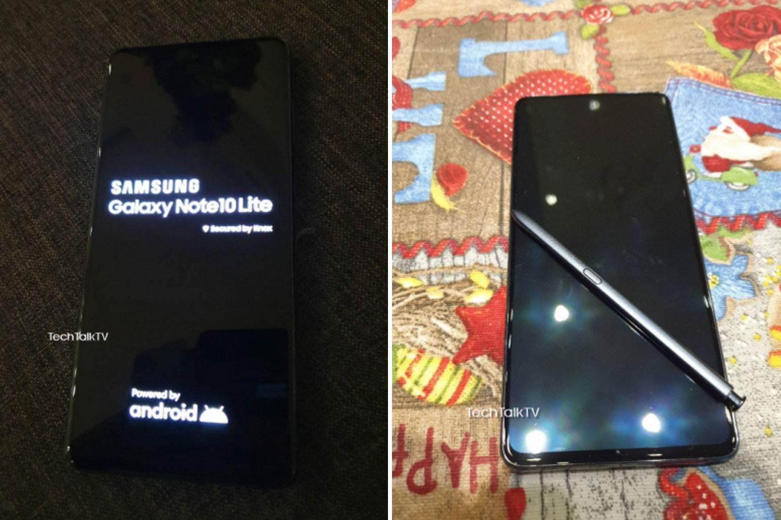 Samsung Galaxy Note10 Lite na pierwszych zdjęciach. Tylny aparat urządzenia jest bardzo podobny do... polecane, ciekawostki Specyfikacja, Samsung Galaxy Note10 Lite, ile kosztuje Galaxy Note 10 Lite, Galaxy Note10 Lite, Galaxy Note 10 Lite, cena  Według plotek, w tym miesiącu Samsung powinien wprowadzić do swojej oferty Galaxy S10 Lite i Galaxy Note10 Lite. Wciąż nie wiadomo dokładnie, kiedy odbędzie się premiera, ale w sieci pojawiły się już zdjęcia jednego z tych nowych produktów - Note10 Lite. Note101