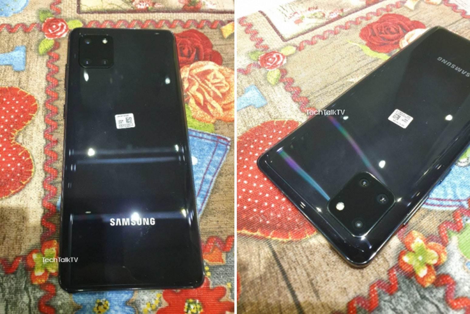 Samsung Galaxy Note10 Lite na pierwszych zdjęciach. Tylny aparat urządzenia jest bardzo podobny do... polecane, ciekawostki Specyfikacja, Samsung Galaxy Note10 Lite, ile kosztuje Galaxy Note 10 Lite, Galaxy Note10 Lite, Galaxy Note 10 Lite, cena  Według plotek, w tym miesiącu Samsung powinien wprowadzić do swojej oferty Galaxy S10 Lite i Galaxy Note10 Lite. Wciąż nie wiadomo dokładnie, kiedy odbędzie się premiera, ale w sieci pojawiły się już zdjęcia jednego z tych nowych produktów - Note10 Lite. Note10 2