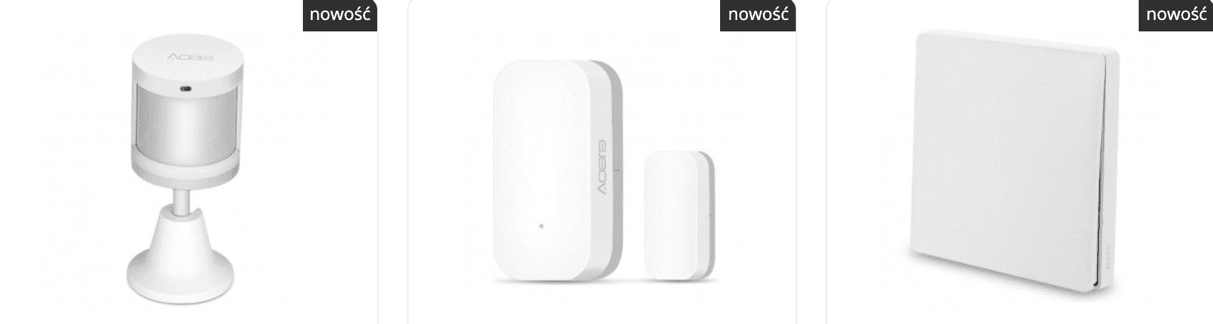 Inteligentne czujniki, przełączniki i inne urządzenia Aqara zgodne z HomeKit trafiły właśnie do oferty sklepu ThinkStore polecane, ciekawostki ThinkStore, homekit, Aqara w polsce, aqara  Urządzeń Aqara chyba nie trzeba nikomu przedstawiać. Za pomocą tych czujników i przełączników jesteśmy w stanie stworzyć nasz inteligentny dom zgodny z HomeKit za naprawdę niewielkie pieniądze. aqara