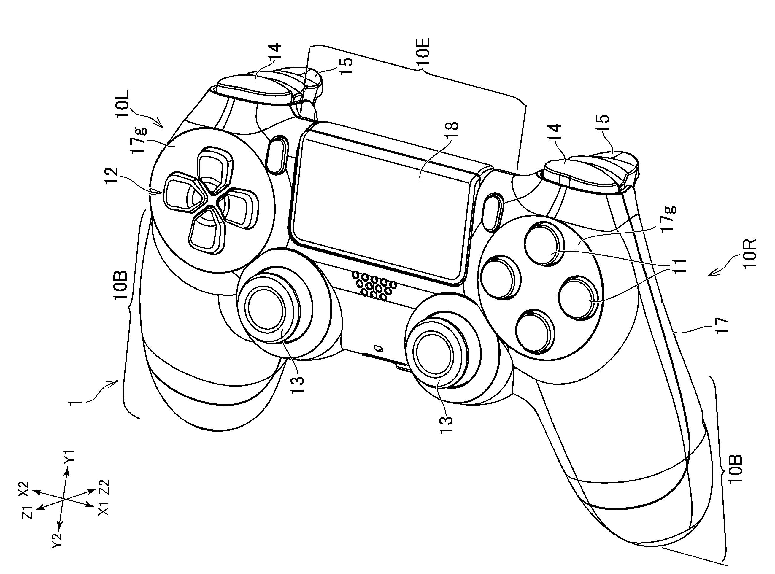 Sony opatentowało nowy gamepad z dwoma dodatkowymi przyciskami dla PlayStation 5 polecane, ciekawostki Sony, playstation 5, gamepad  Sony opatentowało nowy gamepad dla PlayStation z dwoma dodatkowymi przyciskami. Informacja ta wynika z dokumentów przedłożonych w WIPO. sony2