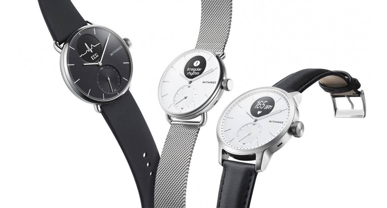 Withings przedstawia nowy inteligentny zegarek ScanWatch z funkcją EKG polecane, ciekawostki Withings ScanWatch, Withings, ScanWatch, cena  Firma Withings przedstawiła swoją nową serię inteligentnych zegarków o nazwie Withings ScanWatch. Urządzenia otrzymają funkcję EKG. zegarek