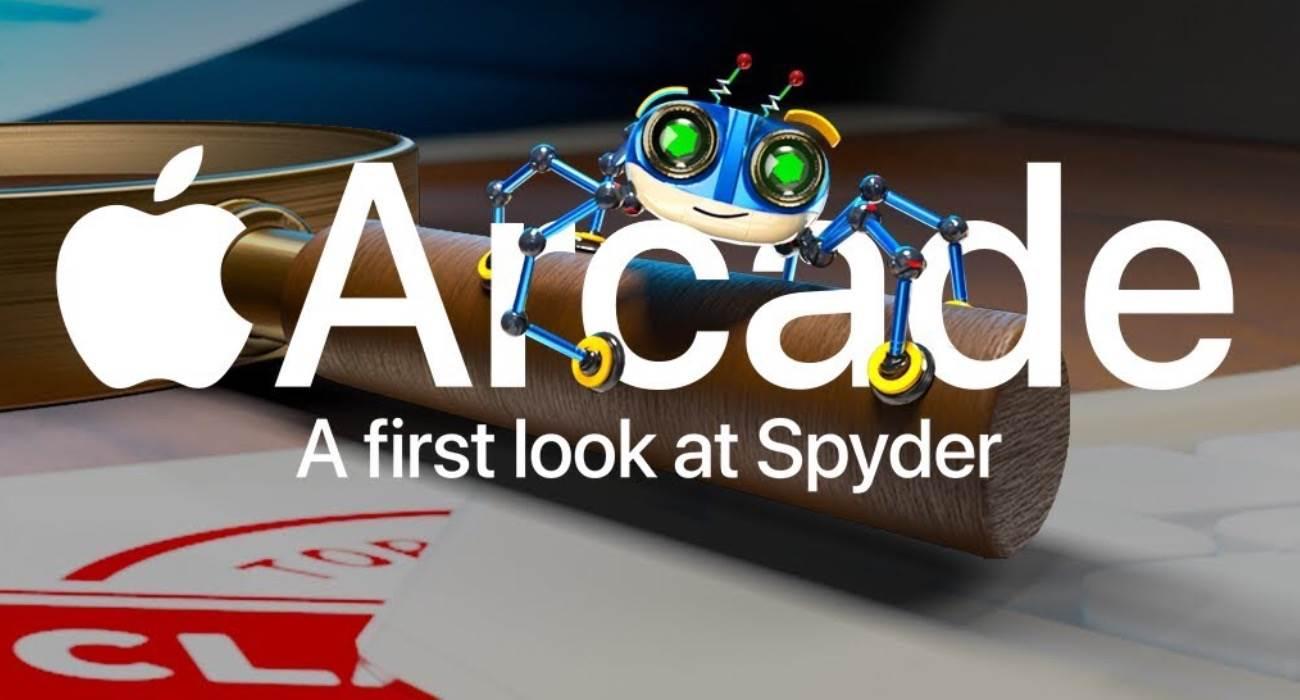 Nowość w Apple Arcade: Spyder Spy Game ciekawostki Wideo, Gra, apple arcade  Firma Apple dodała nową grę szpiegowską ze studia Sumo Digital o robotach-pająkach Spyder do oferty Apple Arcade. BADF42E1 6356 4AE5 AEE8 4C95B17CCCD6