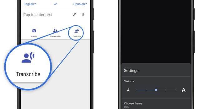 Google wprowadza nową funkcję tłumaczenia symultanicznego dla urządzeń z Androidem polecane, ciekawostki Translator, tłumaczenie w czasie rzeczywistym, Google, Android  Google wprowadziło nową funkcję tłumaczenia symultanicznego o nazwie Live Transcription w aplikacji Google Translator na urządzenia z Androidem. Google 1 650x350