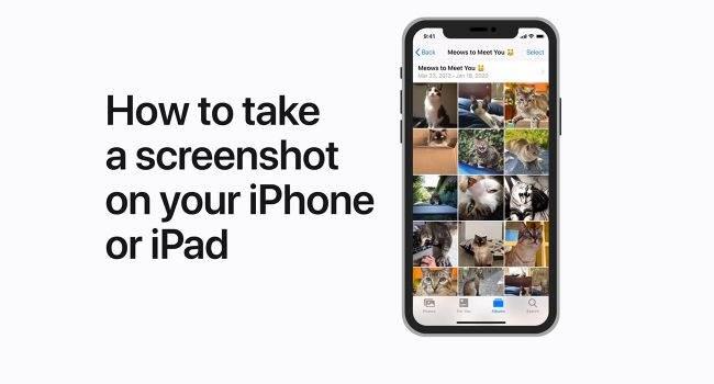 Apple pokazuje jak zrobić zrzut ekranu na iPhone i iPad polecane, ciekawostki Wideo, jak zrobić zrzut ekranu na iPhone XR, jak zrobić zrzut ekranu na iPhone X, jak zrobić zrzut ekranu na iPhone 6, jak zrobić zrzut ekranu na iPhone 11 Pro Max, jak zrobić zrzut ekranu na iPhone 11, jak zrobić zrzut ekranu na iPad Pro, jak zrobić zrzut ekranu na iPad, how to take a screenshot on iPhone, how to take a screenshot iPad, Apple  W nocy na kanale Apple Support pojawiło się nowe wideo w którym to gigant z Cupertino pokazuje jak zrobić zrzut ekranu na iPhone i iPad. Screnshot 650x350