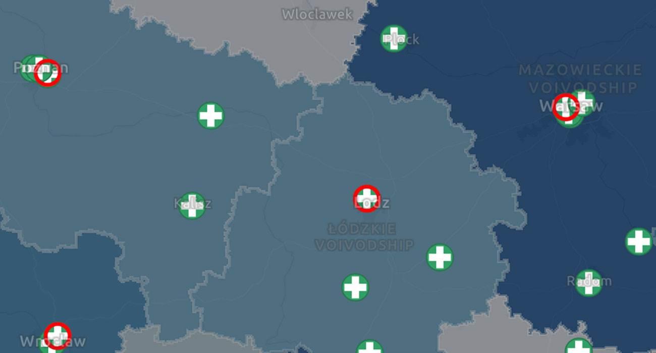 Koronawirus w Polsce. W sieci pojawiła się interaktywna mapa zachorowań na COVID-19 polecane, ciekawostki mapa online, mapa, koronawirus w polsce, koronawirus, interaktywna mapa zachorowań na koronawirusa, ilość zachorowań w polsce, COVID-19  Kilka dni temu polecaliśmy Wam aplikację na iPhone pokazującą mapę zachorowań na COVID-19 na świecie. Dziś chcemy Wam polecić mapę pokazującą gdzie stwierdzono zachorowania na COVID-19 w Polsce. korona 3