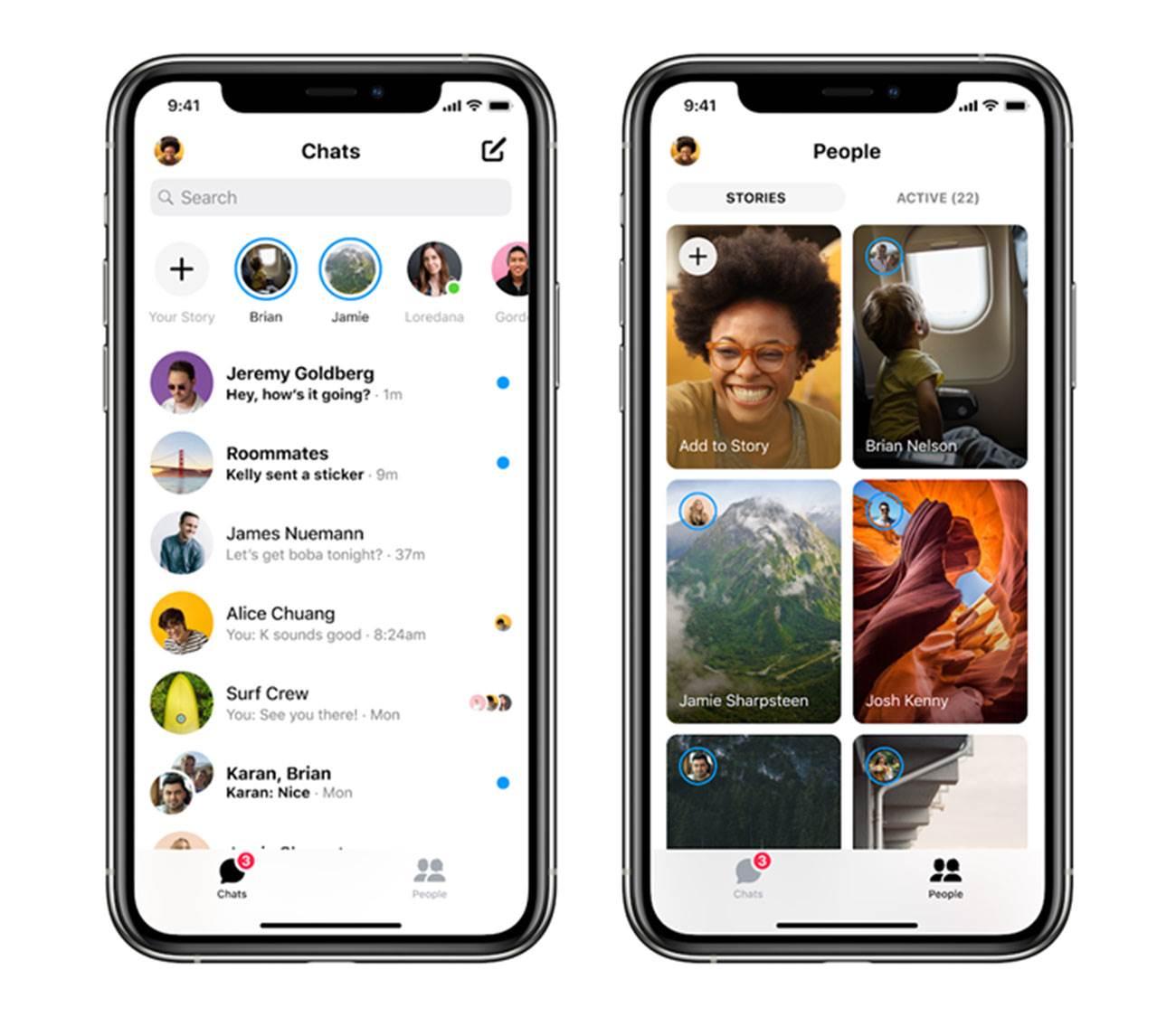 Facebook przedstawił nowego, szybszego i lżejszego Messengera na iOS polecane, ciekawostki nowy Facebook Messenger, Messenger, iOS, Facebook  W dniu wczorajszym Facebook ogłosił wydanie nowej wersji aplikacji Messenger dla systemu iOS, która została przebudowana od podstaw. mess