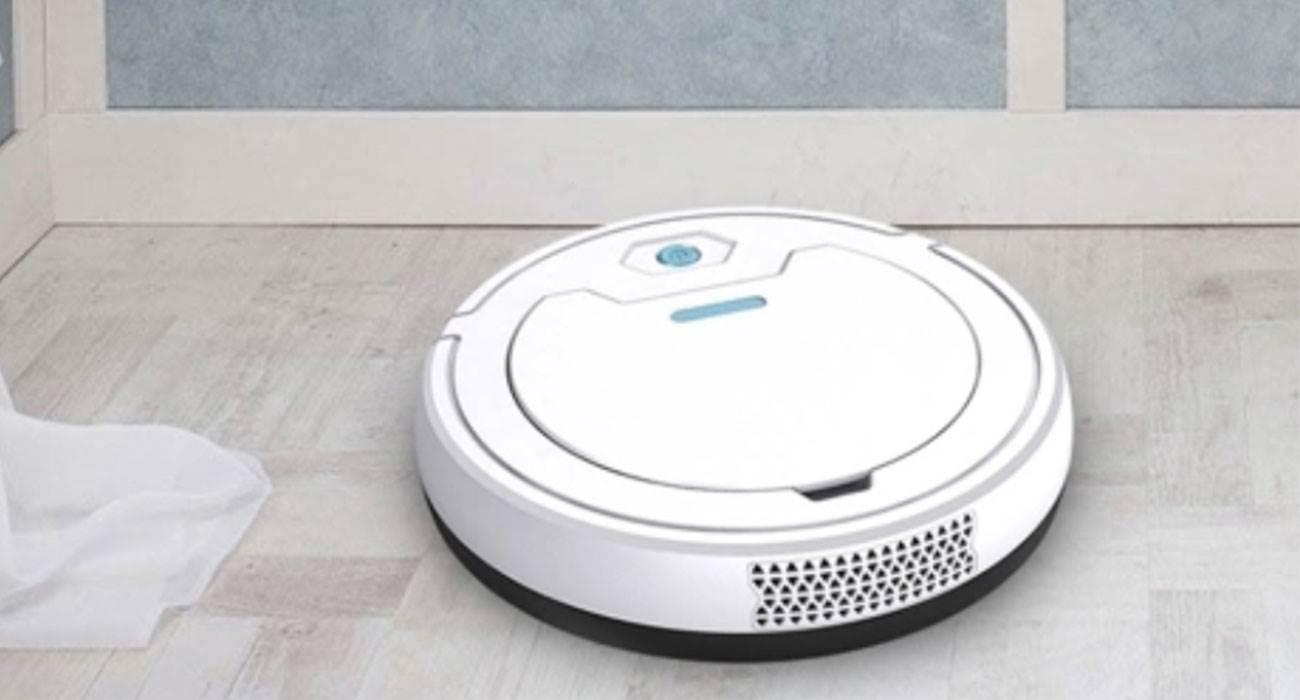1800Pa Vacuum Robotic Cleaner - robotyczny odkurzacz za nieco ponad 100 zł ciekawostki 1800Pa Vacuum Robotic Cleaner  Masz dość odkurzania? Jeśli tak, to mamy dla Was coś extra i do tego w bardzo atrakcyjnej cenie. Poznajcie 1800Pa Vacuum Robotic Cleaner.  odk