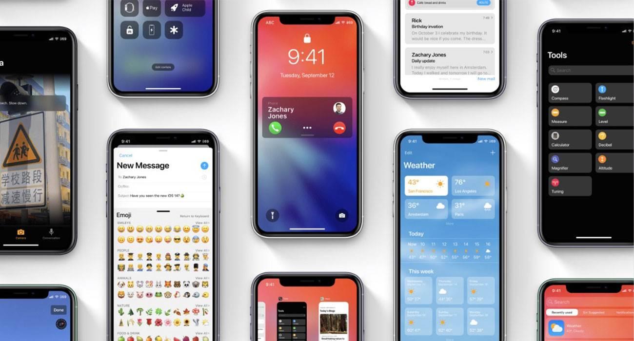 iOS 14 beta 4 dostępna do pobrania - lista zmian polecane, ciekawostki zmiany, Update, nowosci w iOS 14 beta 4, nowosci, lista zmian, iOS 14 beta 4, iOS 14 beta, co nowego w iOS 14 beta 4, co nowego, Apple, Aktualizacja  Od czasu wypuszczenia trzeciej bety iOS 14 minęły dwa tygodnie, więc zgodnie z tradycją Apple udostępniło deweloperom czwartą betę iOS 14. Lista zmian i nowości w iOS 14 beta 4 poniżej. iOS14 5