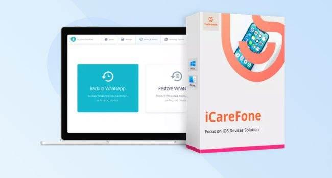 Tenorshare iCareFone - zarządzaj danymi w najprostszy z możliwych sposobów recenzje, ciekawostki Tenorshare iCareFone, Recenzja  iCareFone Tenorshare to kompletna aplikacja do zarządzania urządzeniami iPhone i iPad, która oferuje mnóstwo funkcji, których często brakuje w oficjalnych rozwiązaniach Apple. icare 650x350