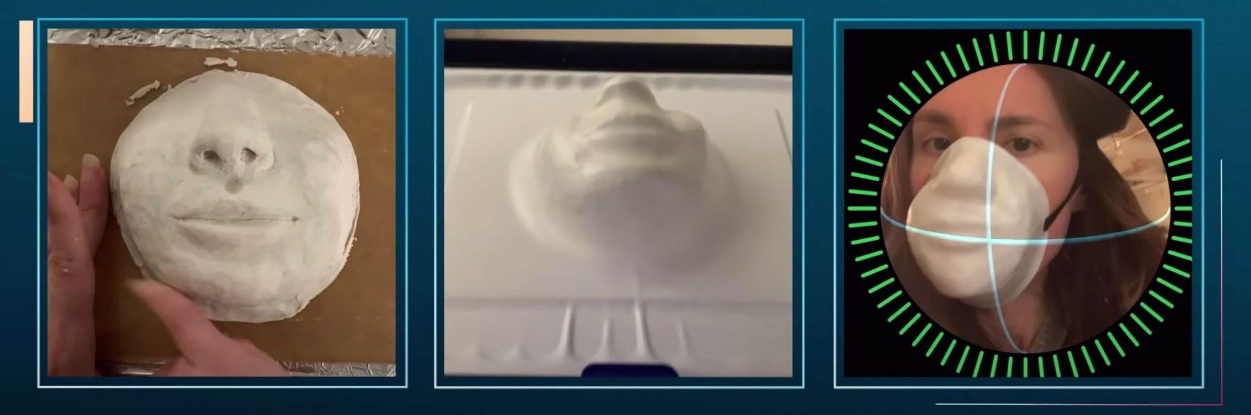 Danielle Baskin stworzyła maskę, która chroni przed koronawirusem i umożliwia odblokowanie iPhone?a z Face ID polecane, ciekawostki Wideo, maska która odblokuje iPhone, maska która działa z Face ID, jak odblokować iPhone w masce, face ID a maska, face ID  Prawdopodobnie już wiesz, że identyfikator twarzy - Face ID, który zadebiutował w iPhone X nie działa z tradycyjnymi maskami ochronnymi. maska 2 scaled